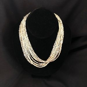 "Chico's 16"" multi strand necklace"